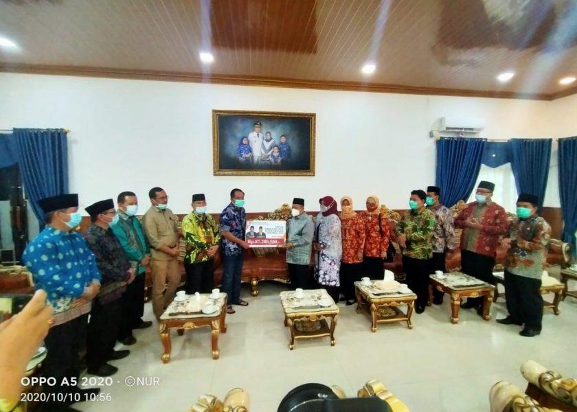 Kementerian Agama Sumsel Bantu Korban Kebakaran