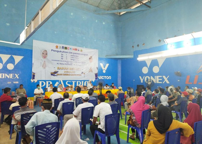 Tim Pemenangan Ratna-Suwarti 3 Desa Kecamatan Lakitan Dikukuhkan