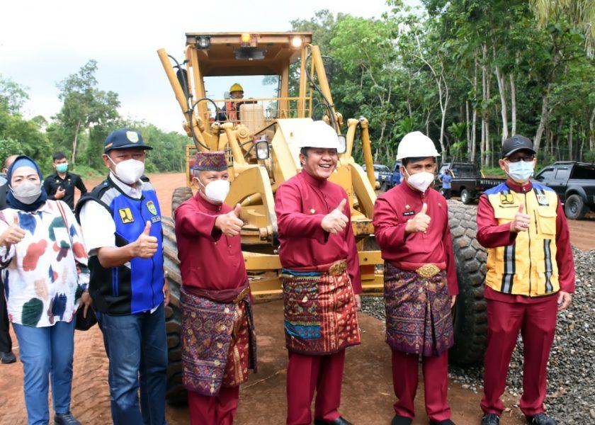 Pembangunan Jalan Kawasan Wisata Terpadu Dimulai