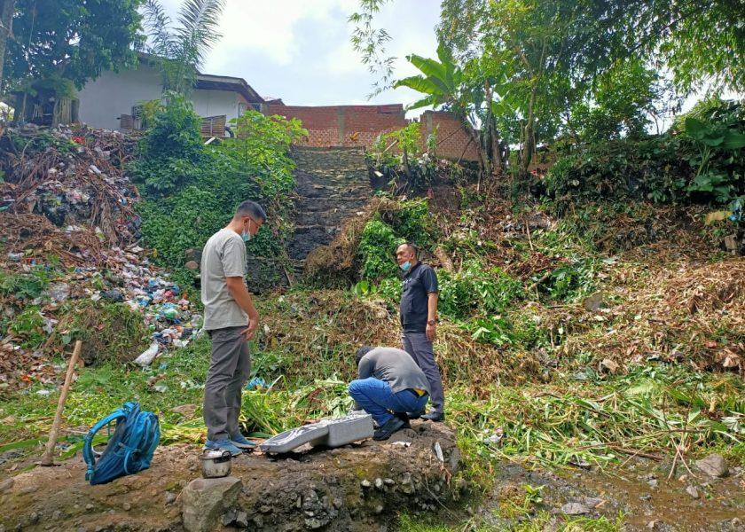 Normalisasi Sungai Taba Pingin, DPUPR Bangun Bronjong
