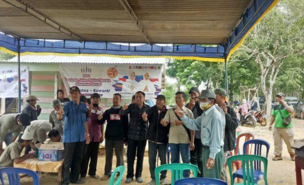 Tim Pemenangan Sosialisasi di Enam Desa