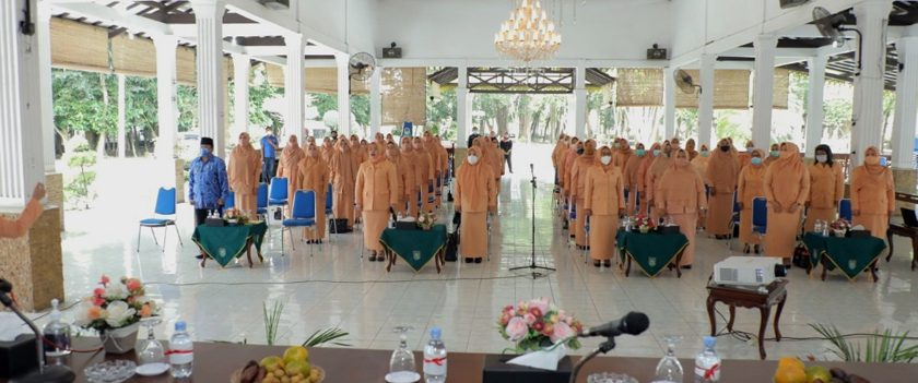Pengurus Dharma Wanita Asahan Periode 2019-2024 Dikukuhkan