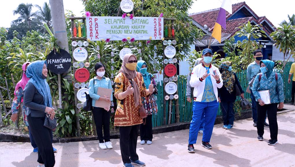 Kampung kreatif Kelurahan Majasari.