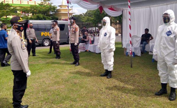 Petugas Pengamanan Pilkada Wajib Diperiksa Kesehatan