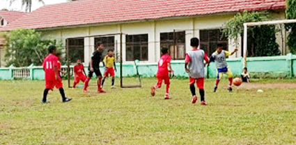 Anjuran Prokes Tetap Dijalankan, SSB Mulai Latihan Sepak Bola
