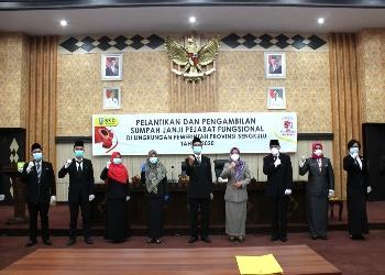 Asisten III Lantik Pejabat Fungsional