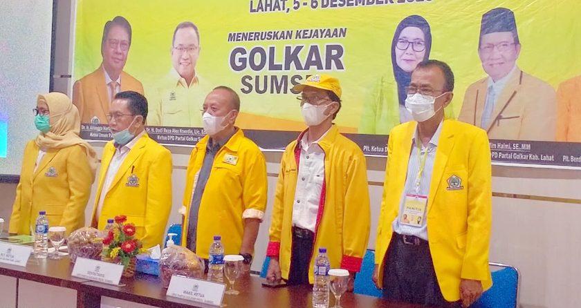 Golkar Lahat Gelar Pendidikan Politik dan Strategi Pemenangan Pemilu