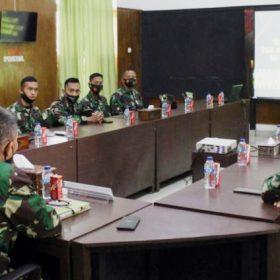 Batalyon Kavaleri 5/DPC Terima Tim Wasrik dari Inspektorat Kodam II Sriwijaya