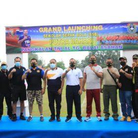 Sekdakot Tanjung Balai Resmikan Sekolah Sepak Bola