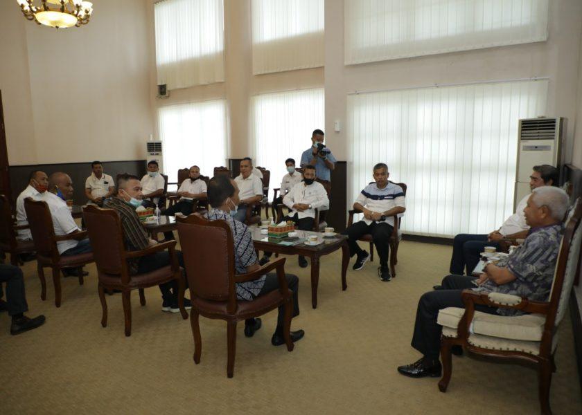 Bupati Terima Audiensi dengan DPP Robert's Center Kabupaten Asahan
