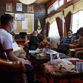 Bahas Kesehatan Lingkungan, Pimpinan DPRD Panggil Dinas LHK