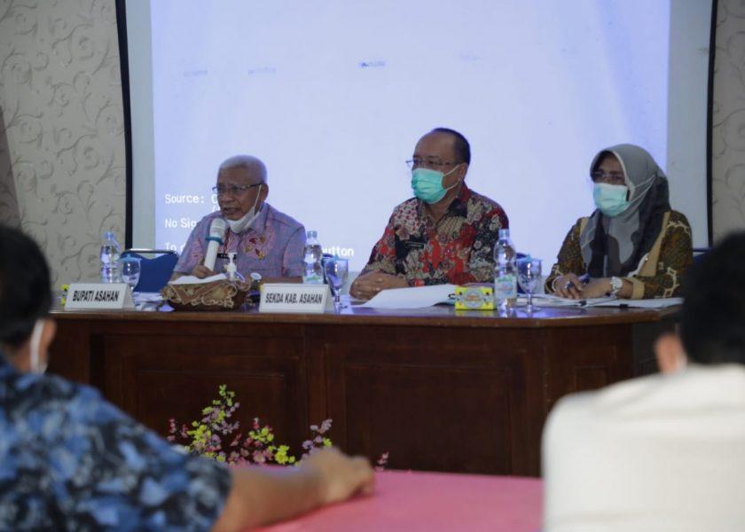 Pemkab Asahan Gelar Rapat Koordinasi Kesiapan Pelaksanaan Vaksinasi Covid 19
