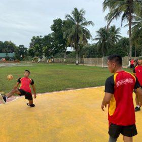Jajaran Yonkav-5/DPC Gelar Olahraga Bersama