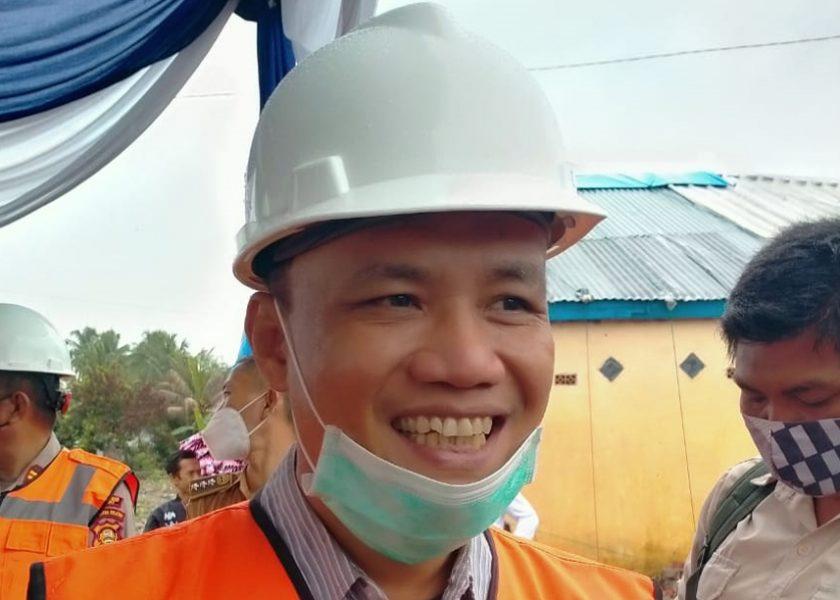 Ketua DPRD Apreasiasi Pemkab Lahat Membangun Perumahan Mayarakat yang Tertimpa Kebakaran