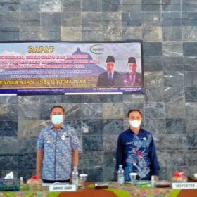 Wujudkan Tata Kelola Pemerintahan yang Bersih, Inspektorat Gelar Rakor