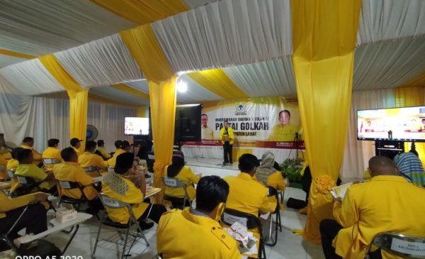 Sri Marhaeni Wulansih Calon Tunggal Ketua DPD II Partai Golkar Lahat