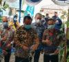 Bupati Resmikan Sriwijaya Street Food Kampung Qris Bank Sumsel Babel Cabang Lahat